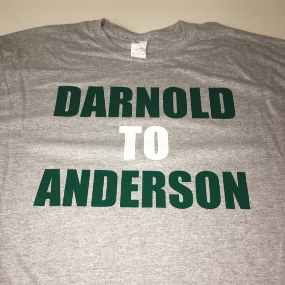 another chance be3dc 6c5f2 New York Jets Darnold To Anderson Shirt NWT